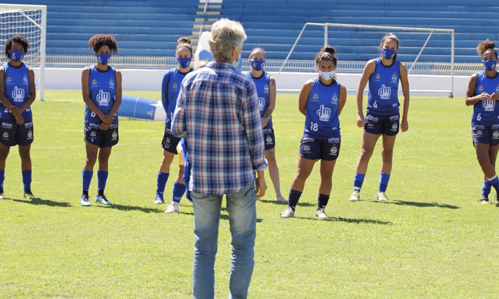 Pia Sundhage Beatriz Vaz Futebol Feminino Seleção Brasileira