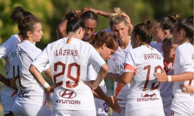 Campeonato Italiano de futebol feminino - Roma - Inter de Milão - Andressa Alves - Kathellen Souza