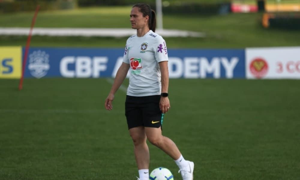 Seleção feminina de futebol sub-17 - Seleção feminina sub-17 - Granja Comary - Coronavírus
