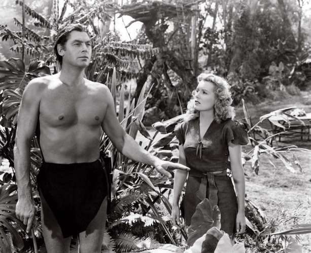 Johnny Weissmuller como Tarzan