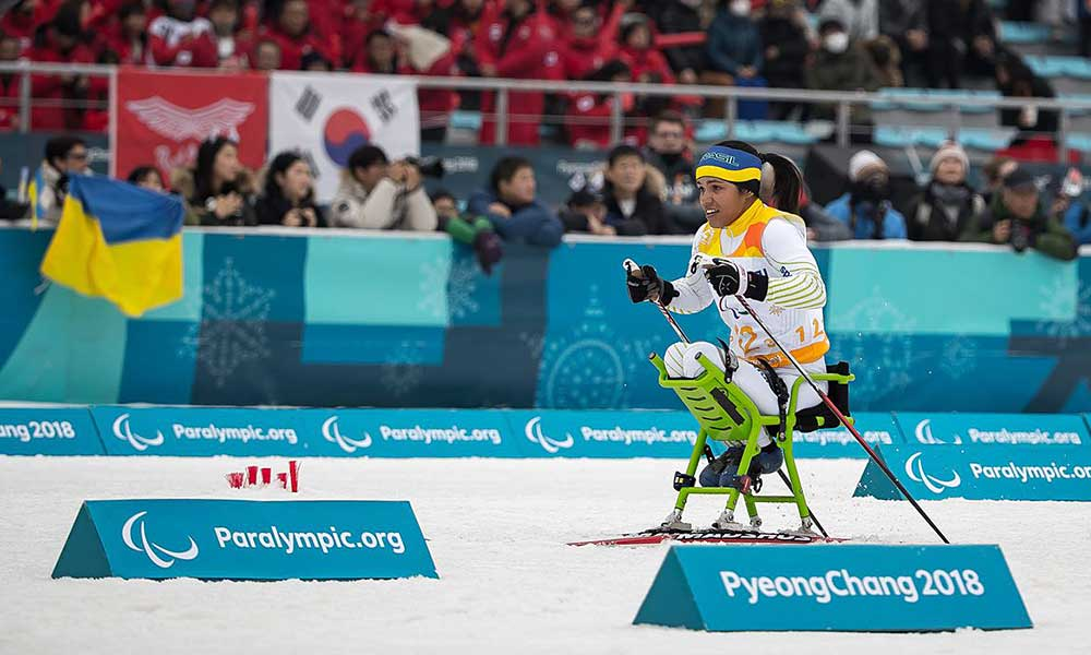 Aline Rocha Paralimpíada de Tóquio esqui cross country