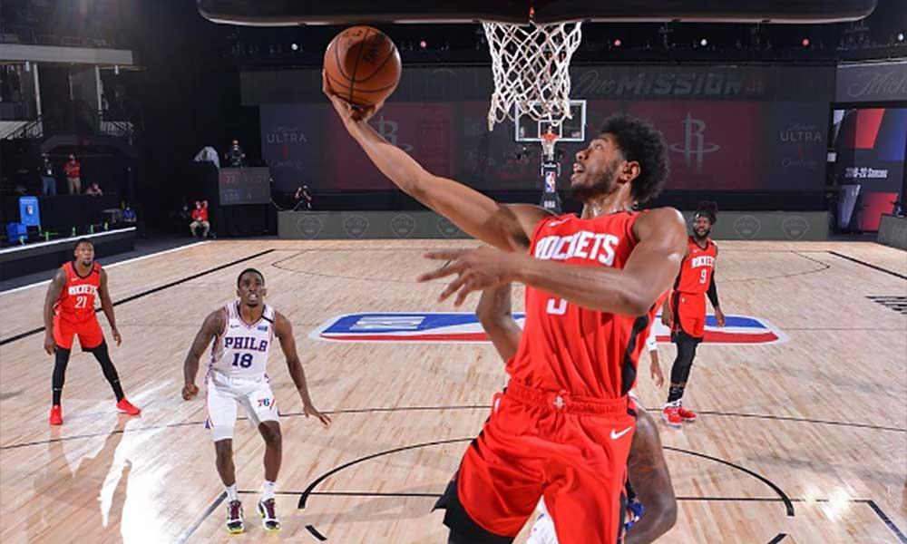Bruno Caboclo basquete masculino NBA Houston Rockets bolha