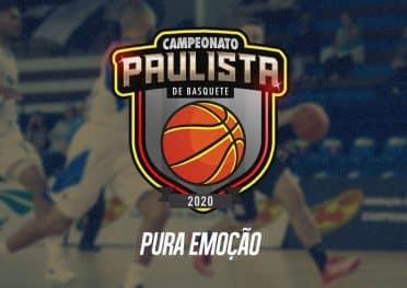 Tabela do Campeonato Paulista de basquete masculino