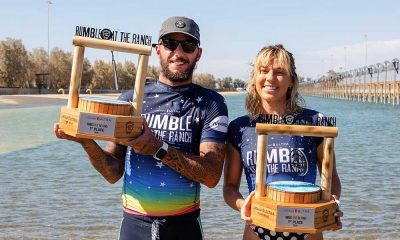 Rumble at the Ranch surfe Filipe Toledo Filipinho Tatiana Weston-Webb