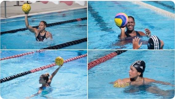 flamengo polo aquático feminino