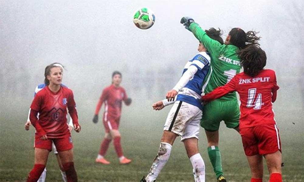 Karol Alves campeã Campeonato Croata futebol feminino