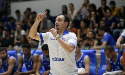 Léo Costa técnico do Minas Tênis Clube