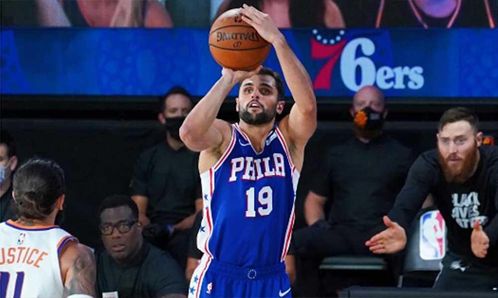 Raulzinho Raul Neto basquete masculino NBA Philadelphia 76ers bolha