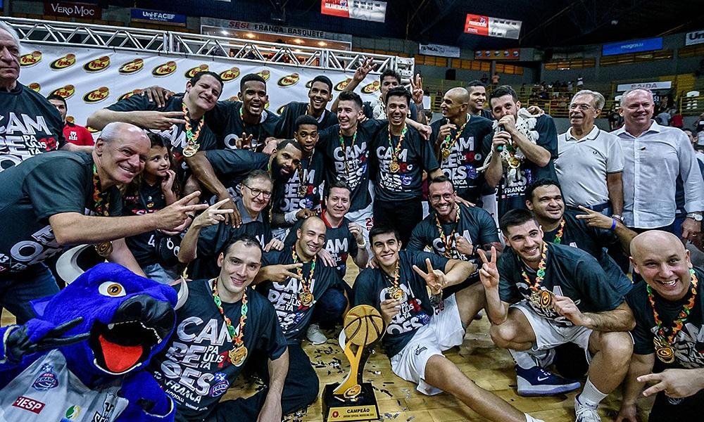 Franca bicampeão paulista de basquete masculino Tabela do Campeonato Paulista de basquete masculino