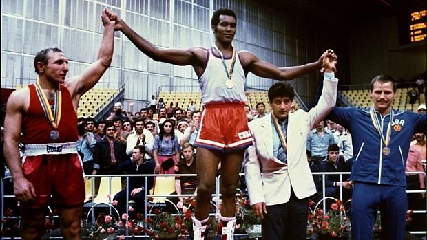 os maiores vencedores do boxe nos jogos olímpicos - Teófilo Stevenson