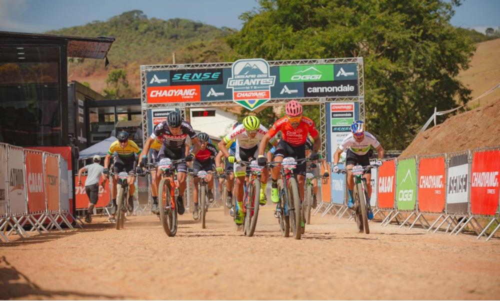 Ciclismo MTB Desafio dos Gigantes Henrique Avancini Raiza Goulão