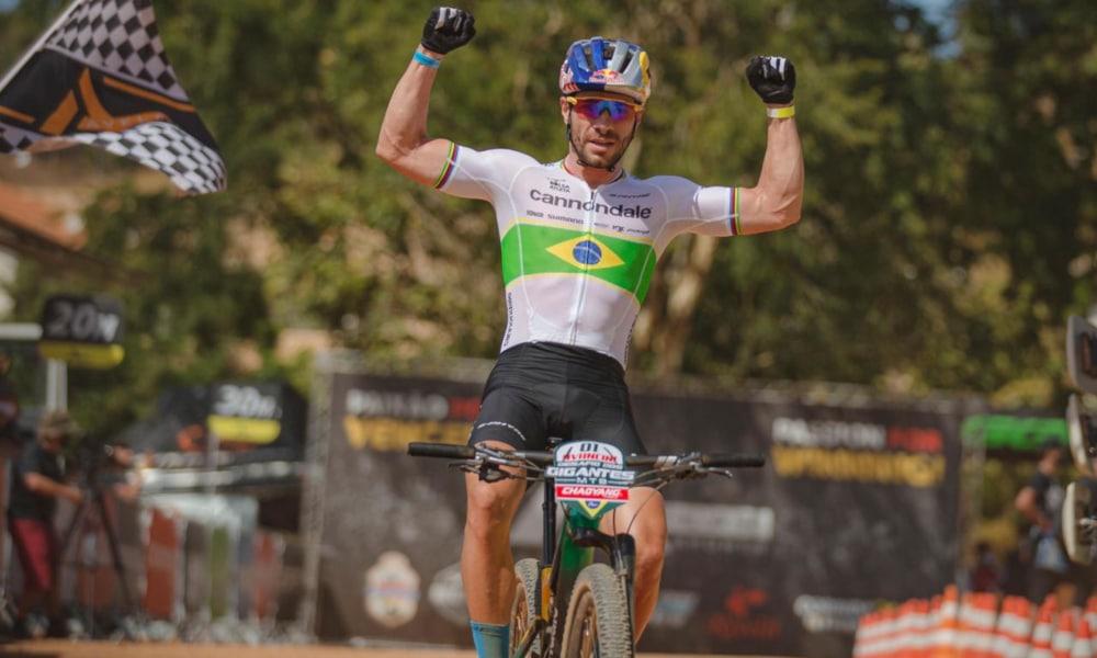 Henrique Avancini Desafio dos Gigantes Ciclismo MTB Raiza Goulão