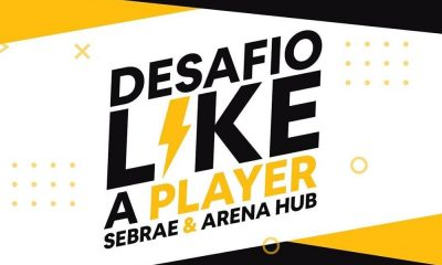 """Arena Hub e Sebrae criam desafio """"Like a player"""" para startups de esporte"""