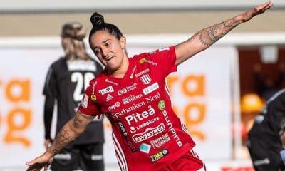 Fernandinha brilha em vitória do Pitea pelo campeonato sueco