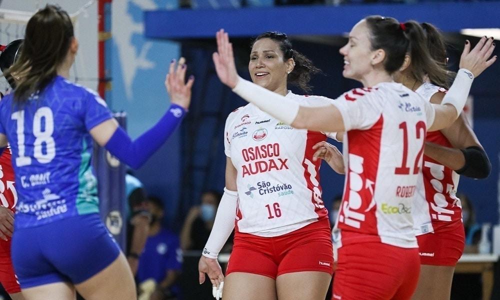 Acompanhe ao vivo: Pinheiros x Osasco Audax - Superliga feminina