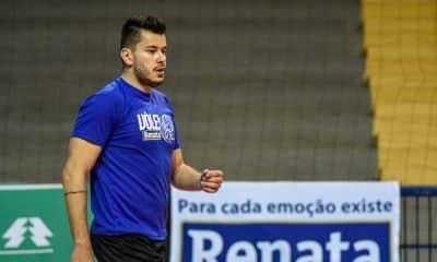 O ponteiro Renan Bonora é de Campinas e jogará no Vôlei Renata