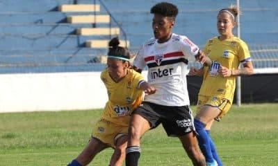 São Paulo vence o São José pelo Campeonato Brasileiro Feminino