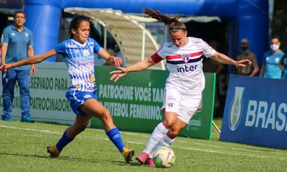 Avaí Kindermann São Paulo Campeonato Brasileiro de futebol feminino