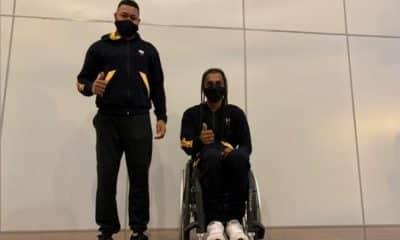 Daniel Rodrigues e Ymanitu Silva voltam a competir na França tênis em cadeira de rodas