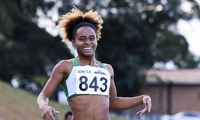 Tiffany Marinho atletismo