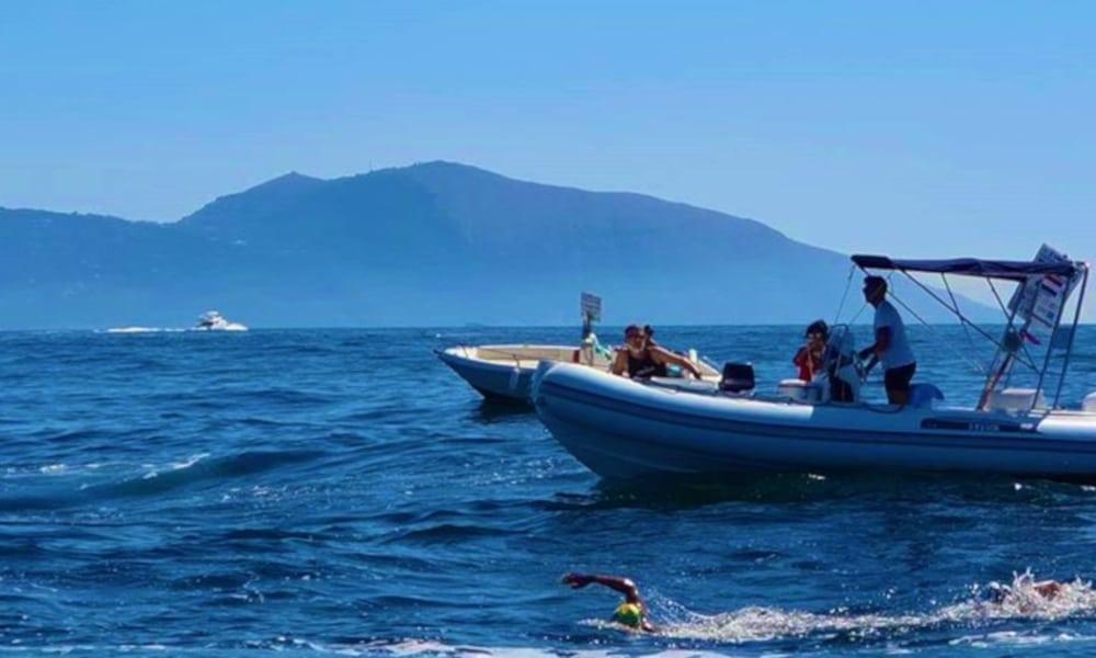 Ana Marcela Travessia Capri-Napoli