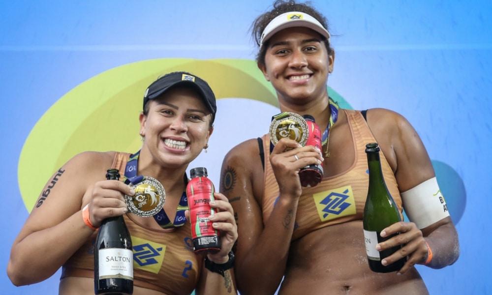 Rebecca e Ana Patrícia venceram Ágatha e Duda na primeira etapa do Circuito Brasileiro de Vôlei de Praia 2020-21