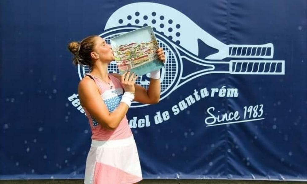 Bia Haddad - ITF de Santarém - Thiago Monteiro