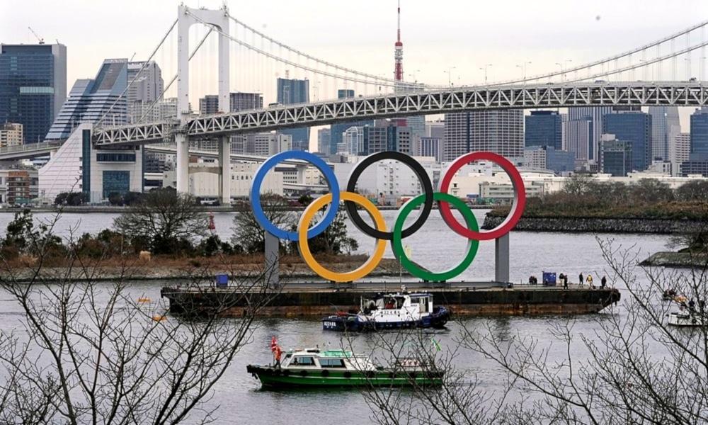 Tóquio Atletas Coronavírus anéis olímpicos tóquio manutenção