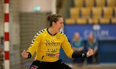 Chana Masson - CSKA - Babi Arenhart - Buducnost - Champions League de handebol feminino
