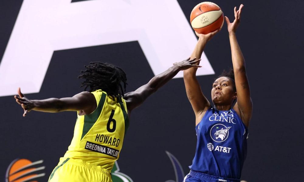 Damiris Minnesota Lynx WNBA