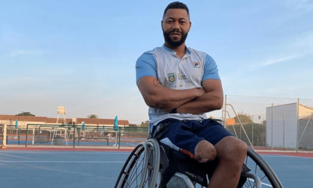 Acessibilidade Daniel Rodrigues Tênis em cadeira de rodas
