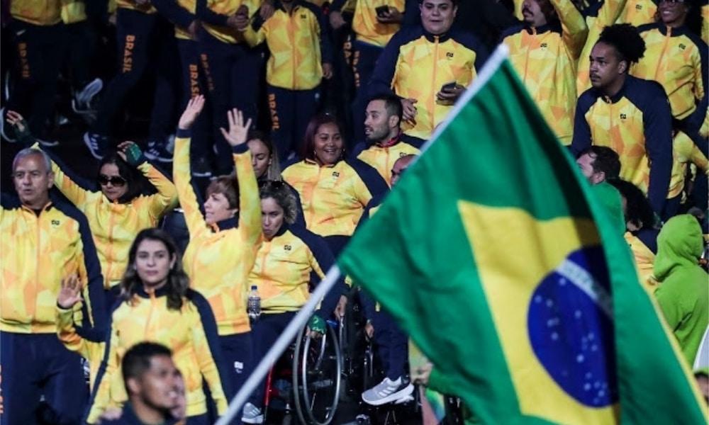 delegação rumo aos jogos paralímpicos