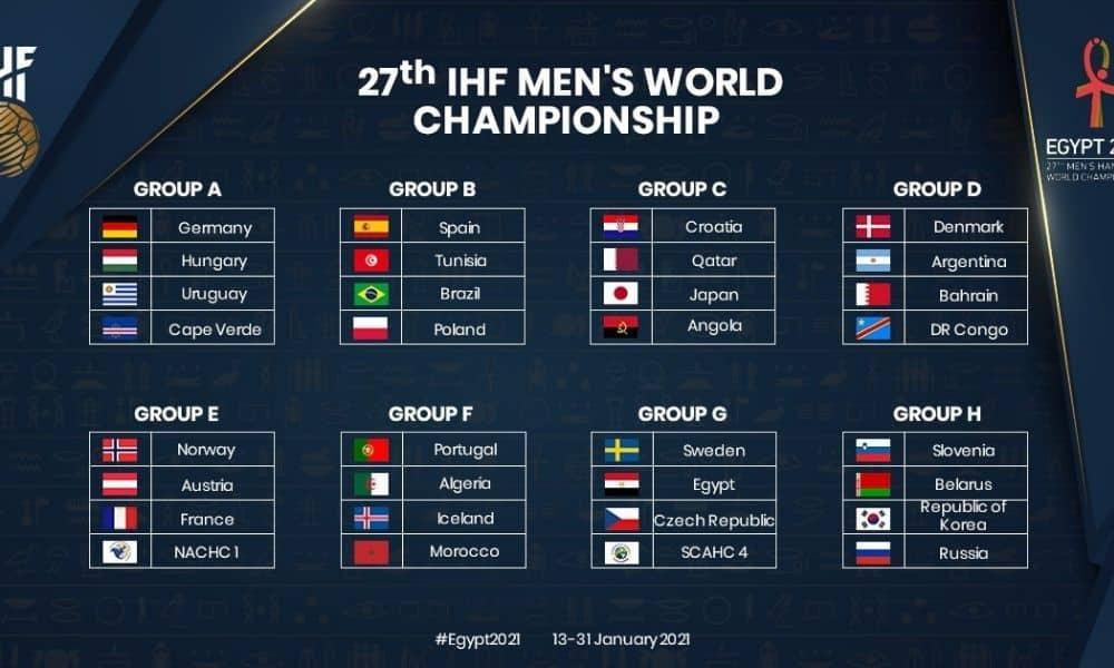 Mundial masculino de handebol 2021