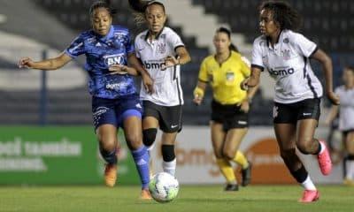 Corinthians X Cruzeiro - Brasileiro feminino de futebol