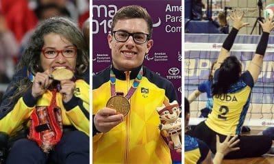 Sem heróis, apenas atletas de esporte paralímpico