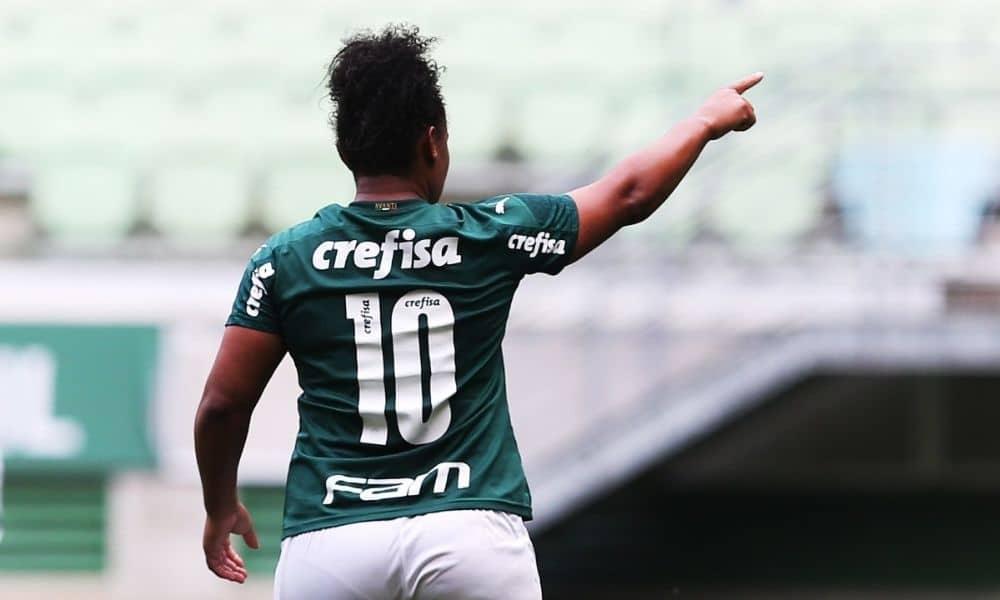 Carla Nunes é o grande nome do Palmeiras no ano