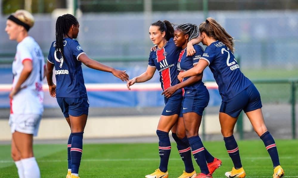 PSG Luana Formiga vence Francês de futebol feminino