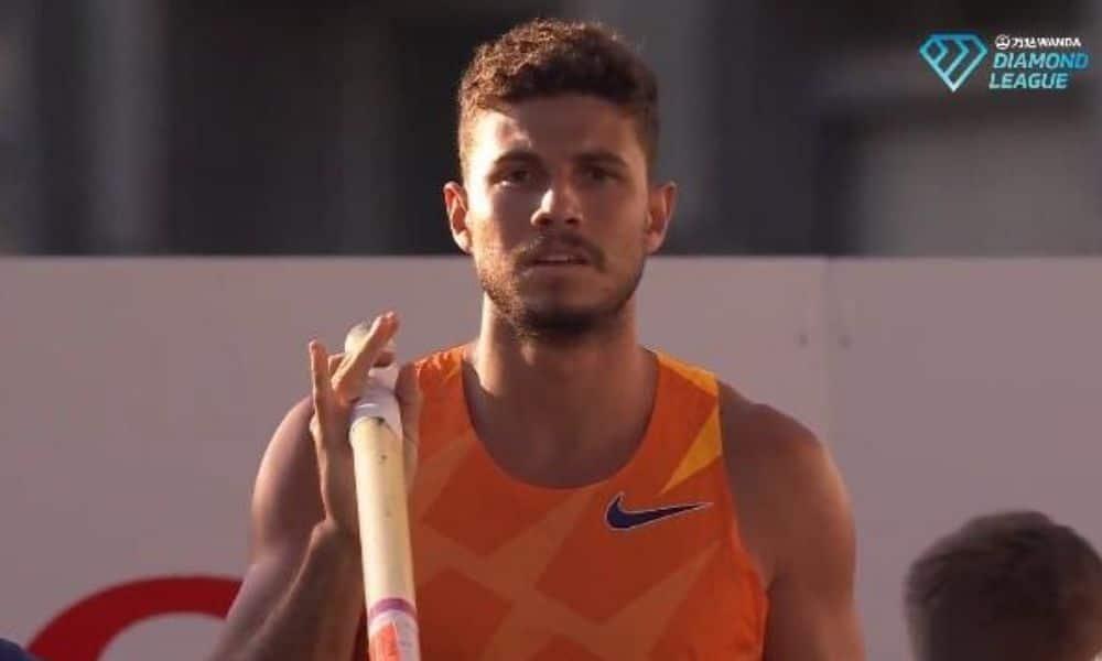 thiago braz salto com vara atletismo meeting