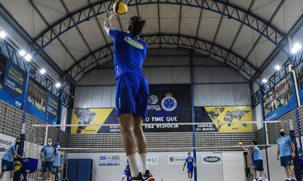 Sada Cruzeiro vôlei masculino Super vôlei datas tabela