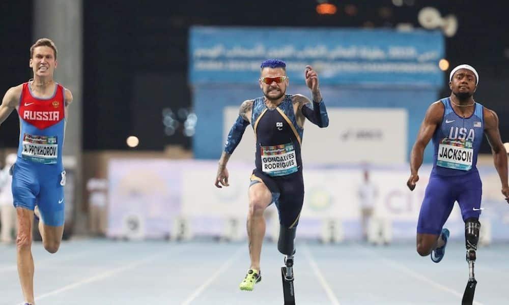 prótese atletismo paralímpico