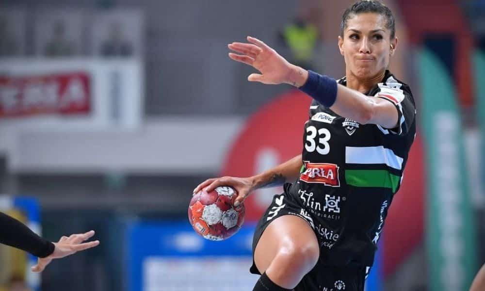 Jaqueline Anastácio é destaque na vitória do MKS Perla Lublin