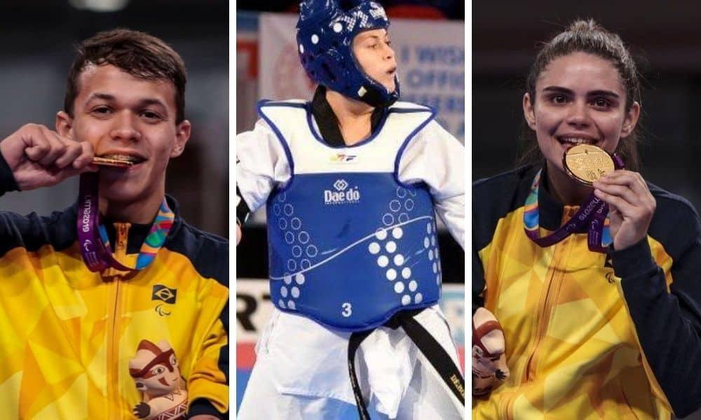 Trio brasileiro quer fazer história nos Jogos Paralímpicos de Tóquio