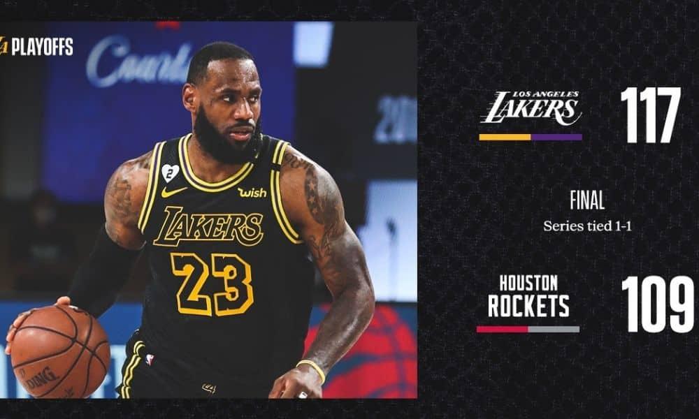 Lakers x Rockets - playoffs NBA