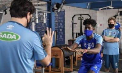 Miguel López se apresenta Sada Cruzeiro