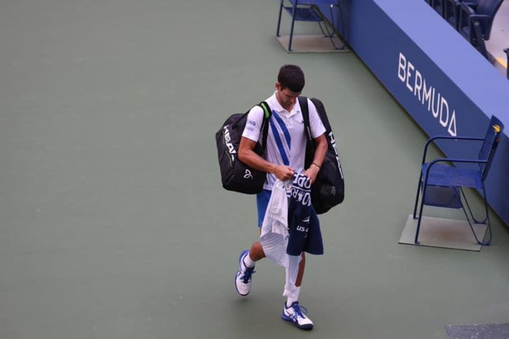 Djokovic eliminado US Open 2020