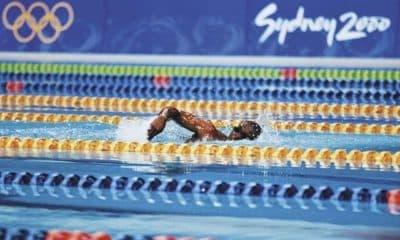 Eric Moussambani natação sydney 2000