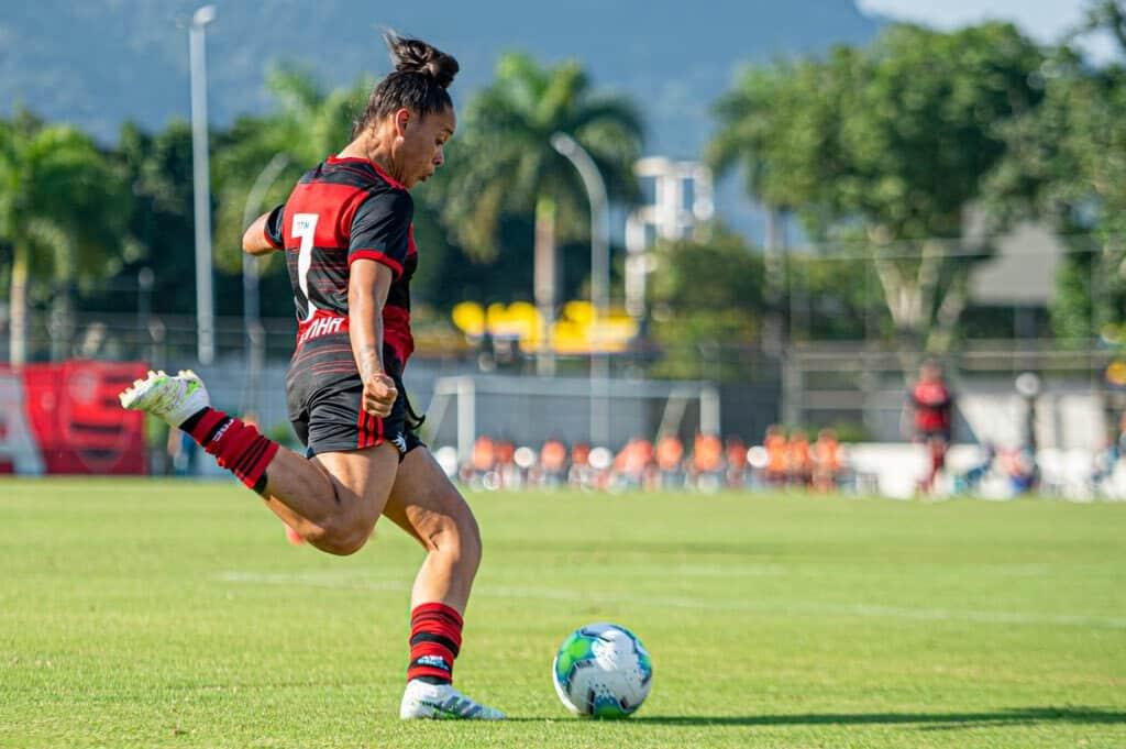 Flamengo vê Cruzeiro empatar no último minuto Brasileiro Feminino