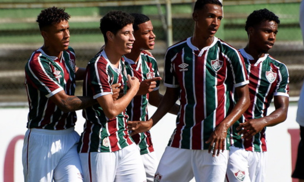 América-MG x Fluminense - Brasileiro Sub-20 de futebol