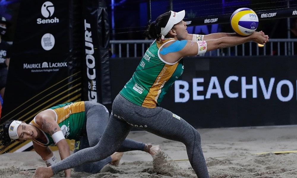 Ágatha e Duda título vôlei de praia King of the Court