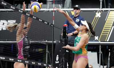 Dupla brasileira avançou em primeiro lugar no grupo C